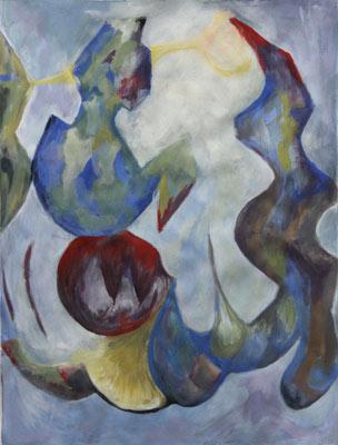 Séverine Cattin, Acrylique, 51x39