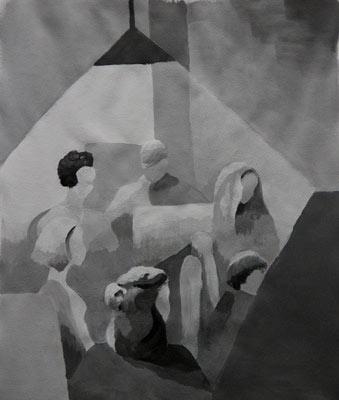 Corina Fux, Acrylique, 39x32