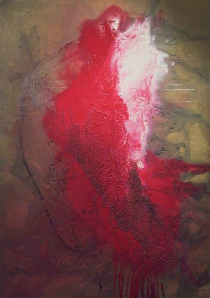 Rouge et blanc (1999) 120 x 160