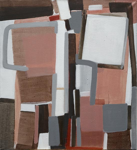 Toile, 2006 Pigments et liant acrylique, 73x80cm