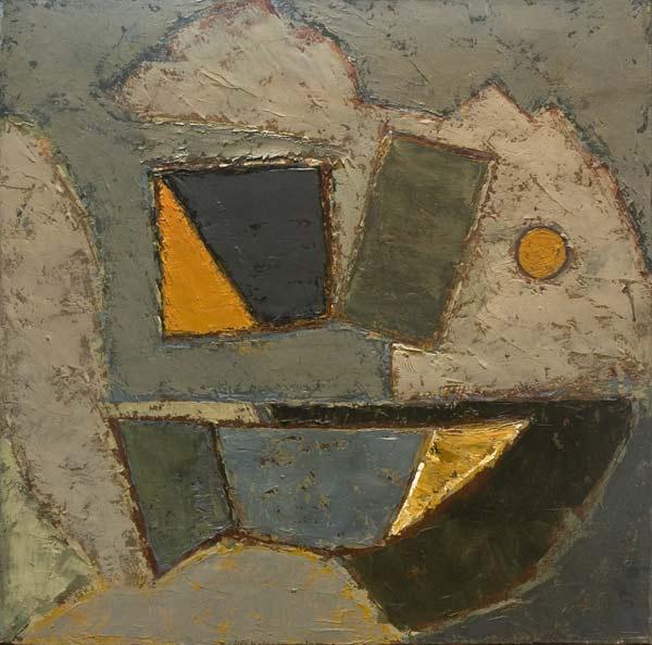 no 22 de la 9ème série de la métamorphose 50 x 50 cm, acrylique sur toile, Paris 1991