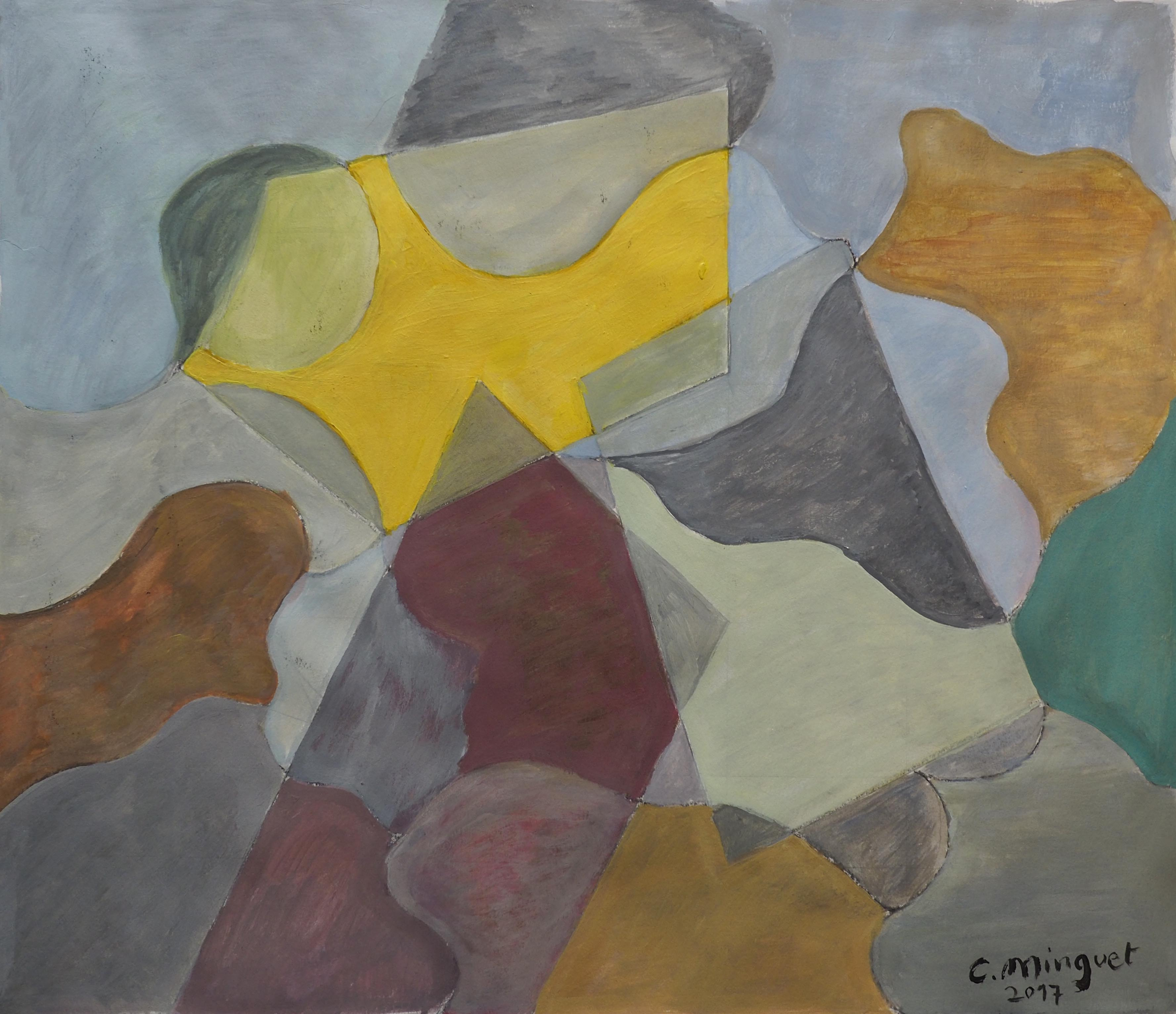 Christian Minguet, 36x41