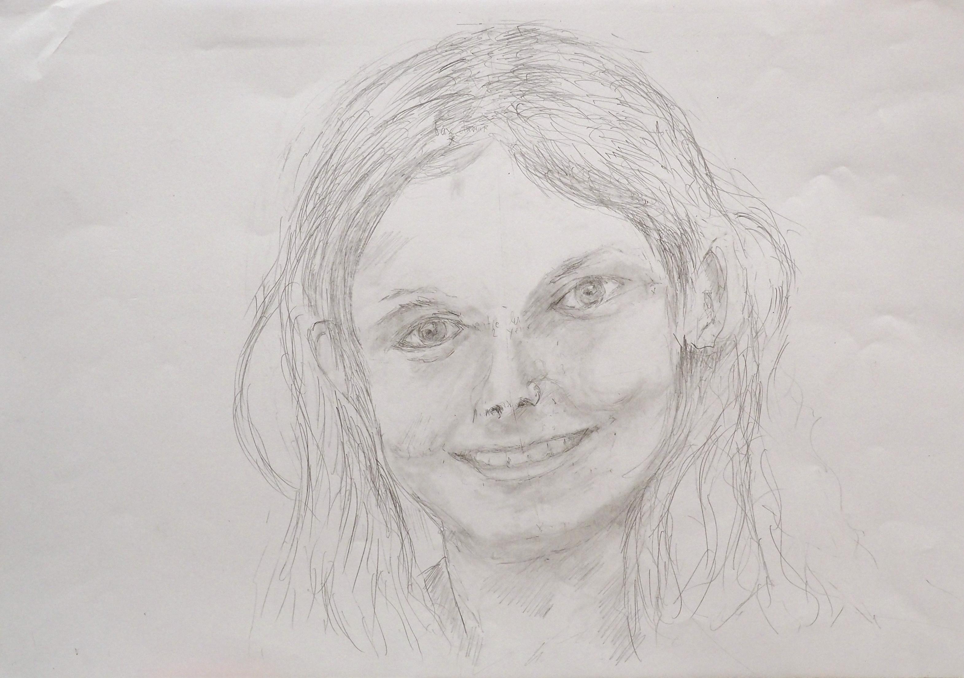 Pierre Favre, crayon, 29x47