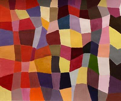 Caroline Tissot, Acrylique, 40x35