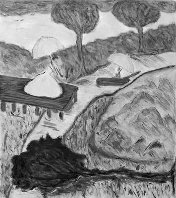 Charlotte Blackwell, Acrylique, 42x48