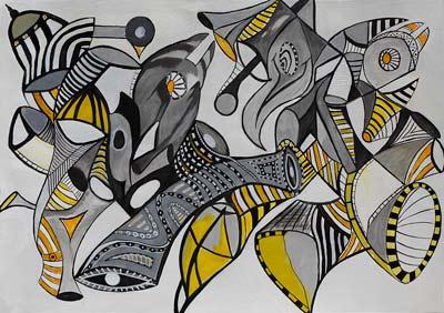 Daniel Pellanda, Acrylique, 70x50