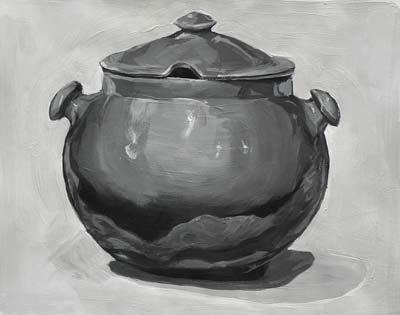 Dasha Zagurskaya, Acrylique, 37x28