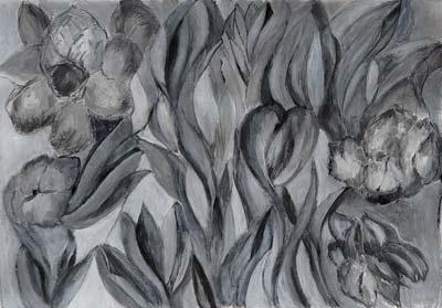 Eliane Spichiger, Acrylique, 30x21