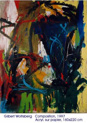 Composition 1997 - acrylique - 160x220