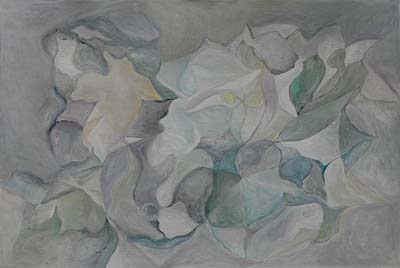 Jessica Berrini, Acrylique, 58x39