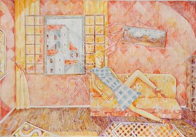 Marc Mortera, Acrylique, 40x28
