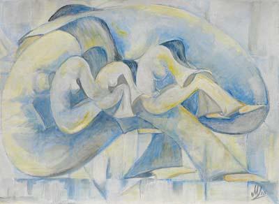 Marisa Treccani, Acrylique, 36x28