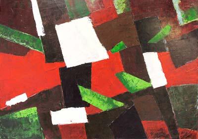Martin Paul Broeniman, Acrylique, 152x105