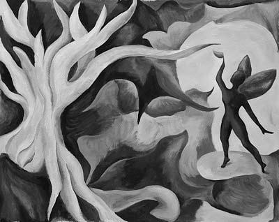 Muriel Brandt, Acrylique, 36x30